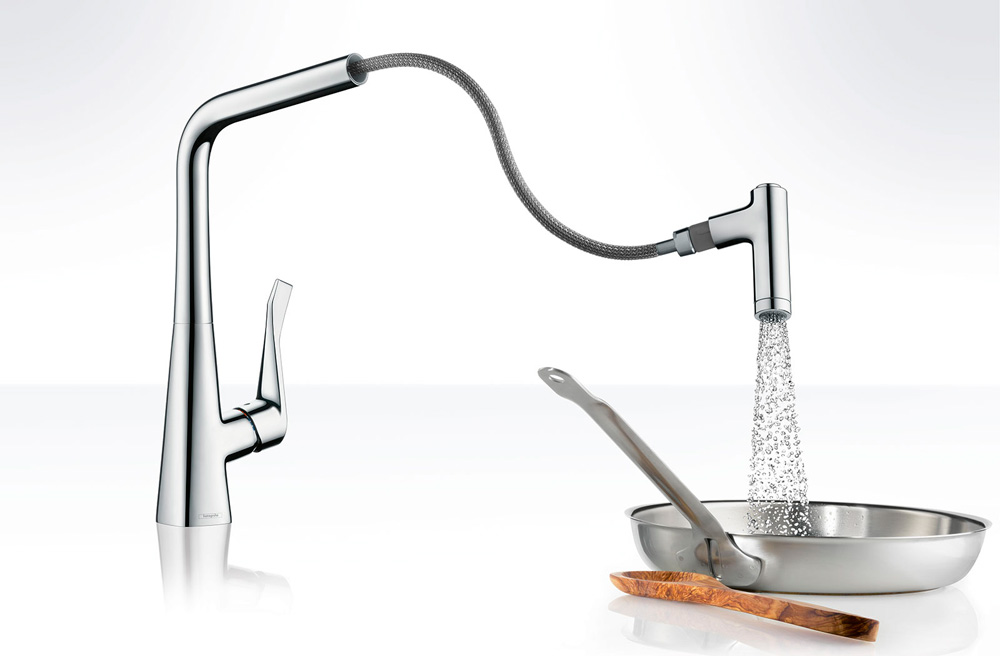 Robinetterie cuisine HansGrohe metris 0