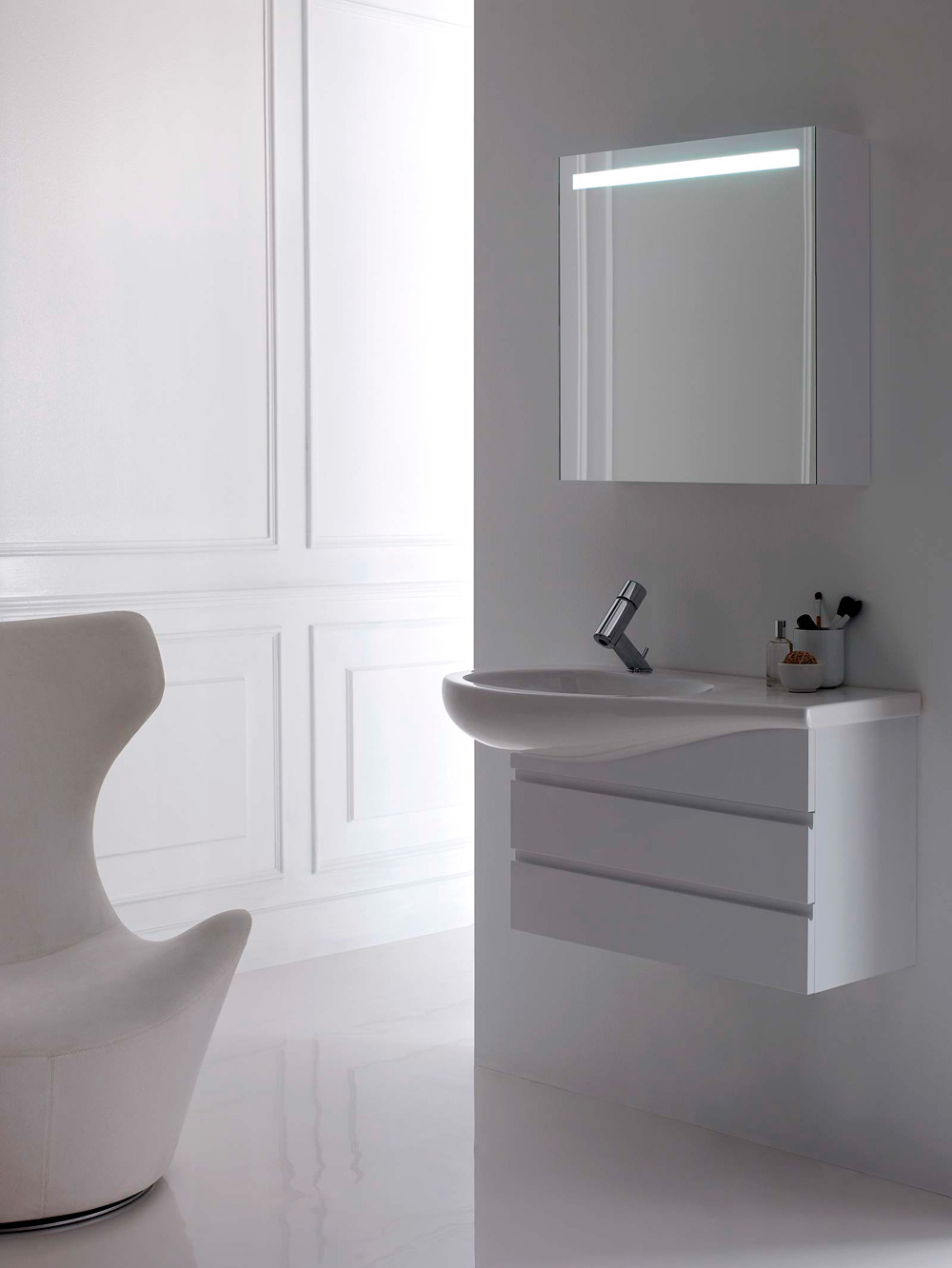 collection il bagno alessi one laufen schmitt ney. Black Bedroom Furniture Sets. Home Design Ideas
