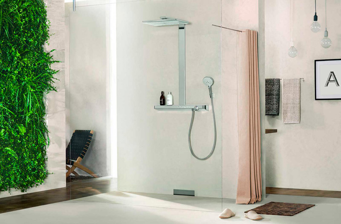 Colonne douche HansGrohe rainmaker select 460