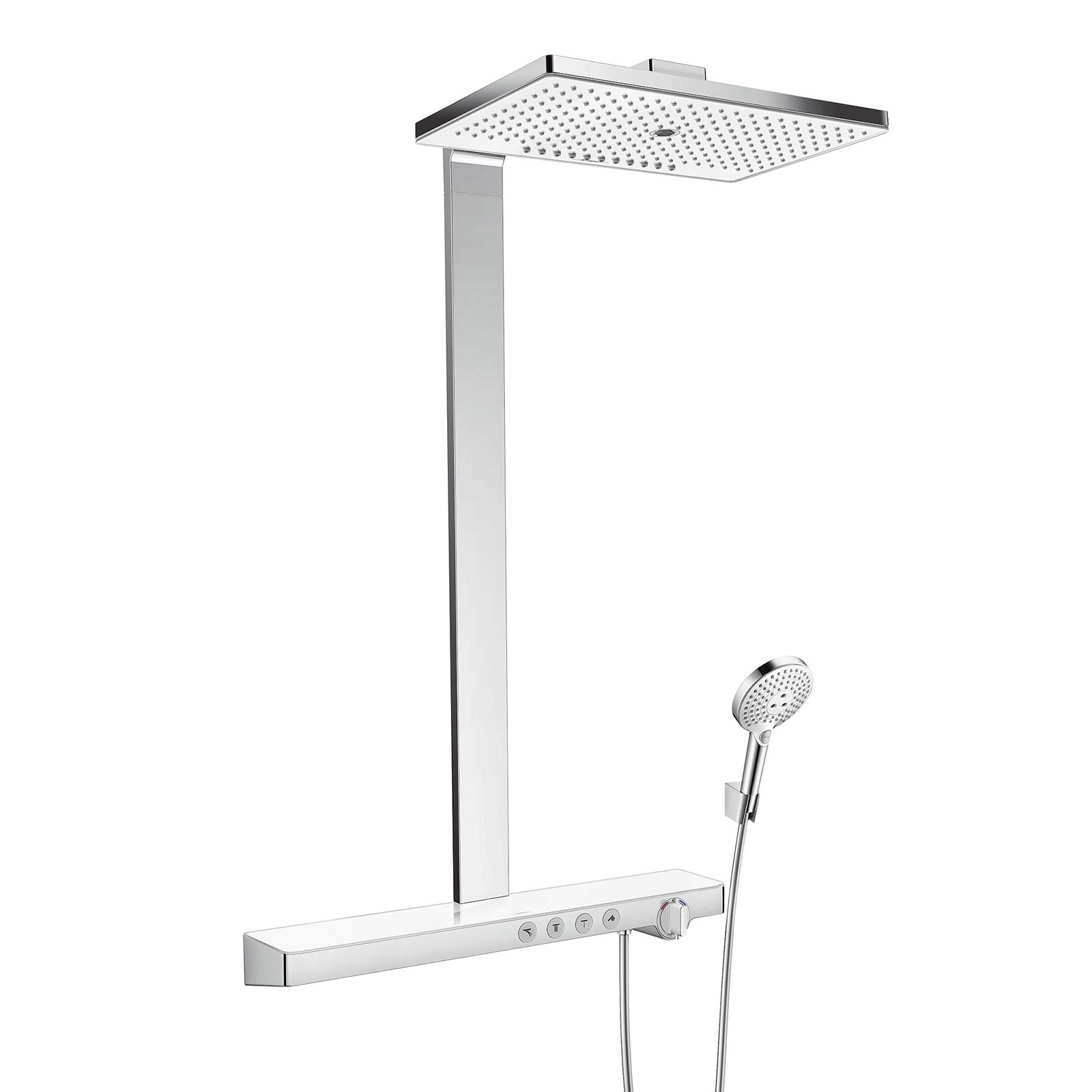 colonne de douche showerpipe rainmaker select 460 3jet hansgrohe schmitt ney. Black Bedroom Furniture Sets. Home Design Ideas